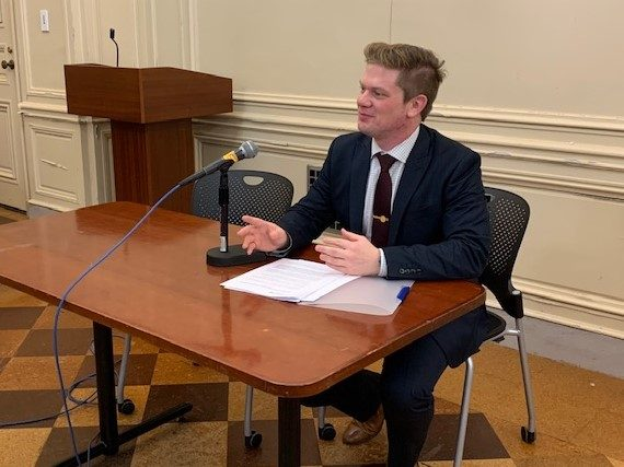 Owen Jappen, Sr. Mgr, Industry Relations, SOCMA, submits oral commentary at EPA Public Hearing on use of ethylene oxide.